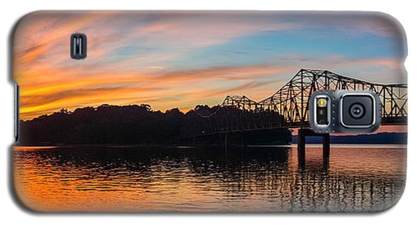 Browns Bridge Sunset Galaxy S5 Case