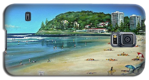 Burleigh Beach 100910 Galaxy S5 Case