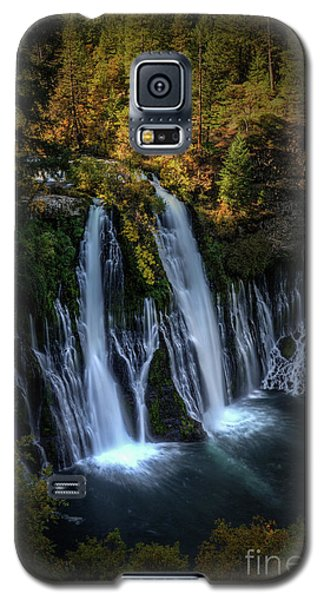 Galaxy S5 Case featuring the photograph Burney Falls by Kelly Wade