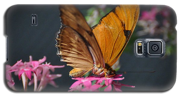 Galaxy S5 Case featuring the photograph Butterfly by Savannah Gibbs