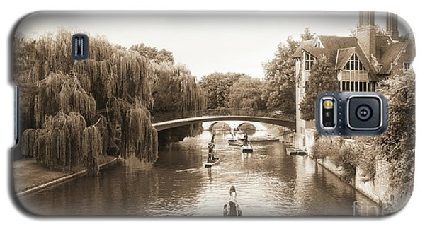 Cambridge River Punting Galaxy S5 Case by Eden Baed