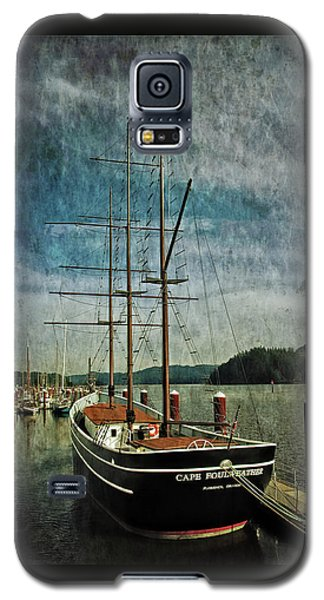 Cape Foulweather Tall Ship Galaxy S5 Case by Thom Zehrfeld