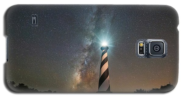 Cape Hatteras Lighthouse Milky Way Galaxy S5 Case