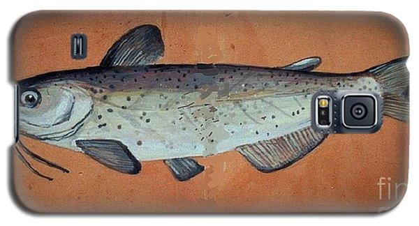 Catfish Galaxy S5 Case by Andrew Drozdowicz