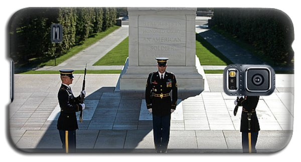 Changing Of Guard At Arlington National Galaxy S5 Case