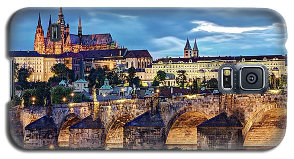Charles Bridge And Prague Castle / Prague Galaxy S5 Case