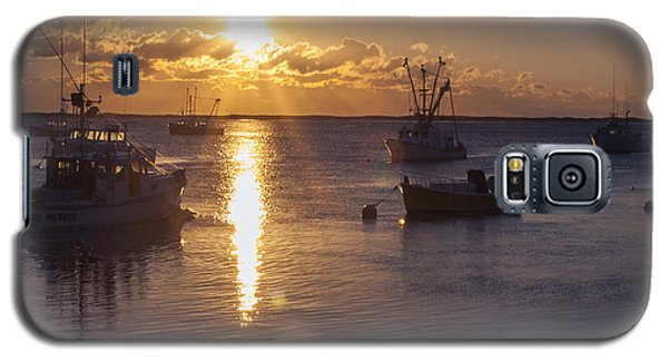 Galaxy S5 Case featuring the photograph Chatham Sunrise by Charles Harden
