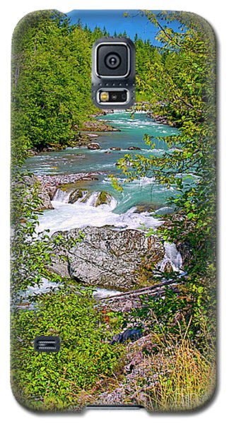 Galaxy S5 Case featuring the photograph Cheakamus River by Sharon Talson