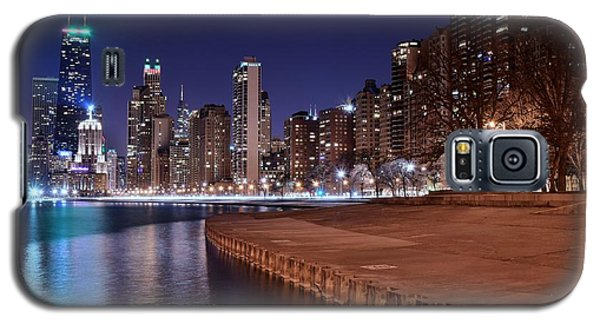 Chicago From The North Galaxy S5 Case by Frozen in Time Fine Art Photography