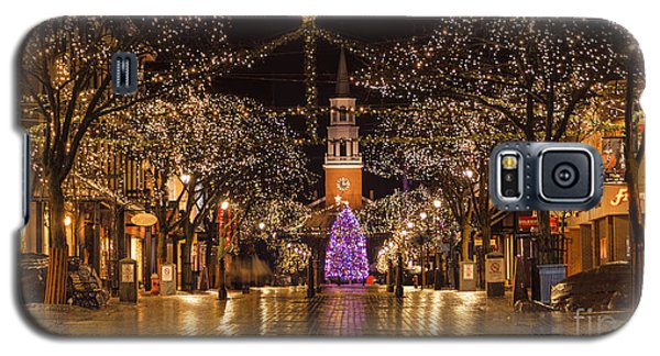 Christmas Time On Church Street. Galaxy S5 Case