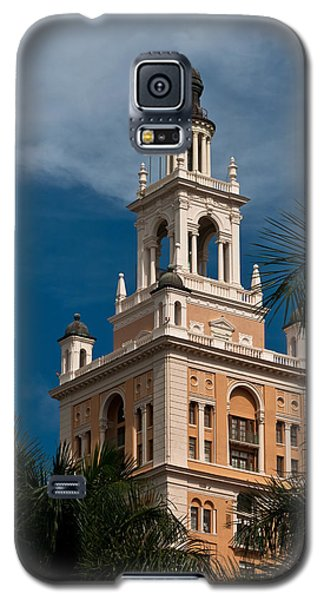 Coral Gables Biltmore Hotel Tower Galaxy S5 Case by Ed Gleichman