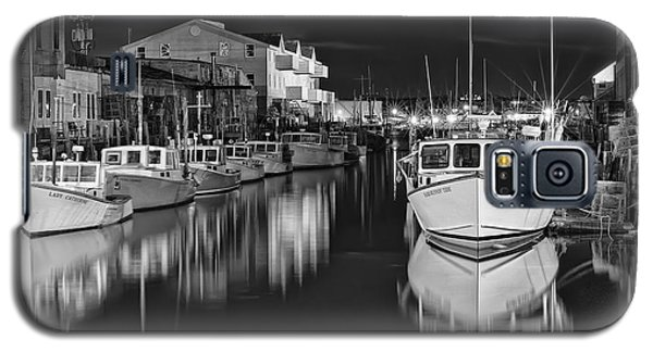 Custom House Wharf Galaxy S5 Case by Richard Bean
