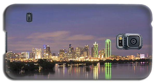 Dallas Skyline Twilight Galaxy S5 Case
