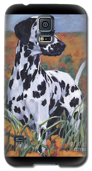 Galaxy S5 Case featuring the painting Dalmatian by Lee Ann Shepard