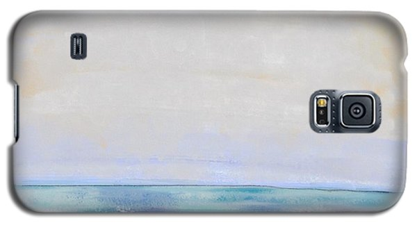 Galaxy S5 Case featuring the digital art Day At The Beach by Paula Brown