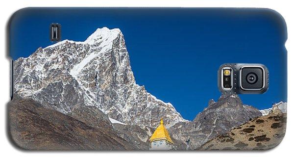 Dingboche Stupa In Nepal Galaxy S5 Case