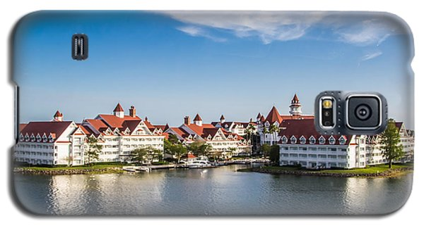 Disney's Grand Floridian Resort And Spa Galaxy S5 Case by Sara Frank
