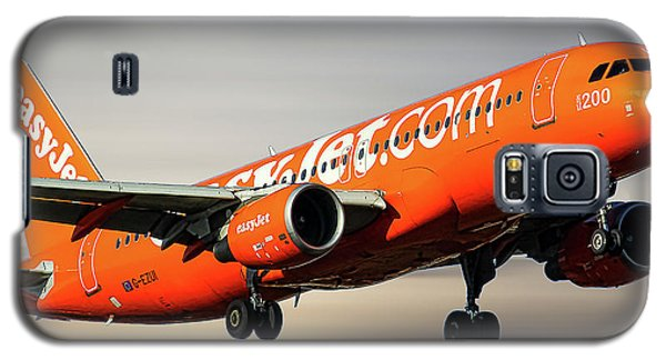 Jet Galaxy S5 Case - Easyjet 200th Airbus Livery Airbus A320-214 by Smart Aviation