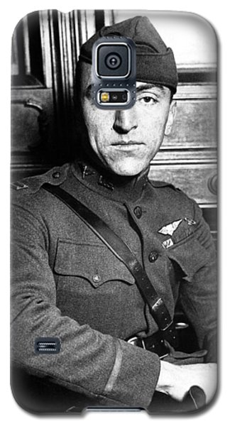 Galaxy S5 Case featuring the photograph Eddie Rickenbacker by War Is Hell Store