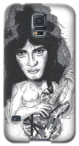 Eddie Van Halen Galaxy S5 Case by Gary Bodnar