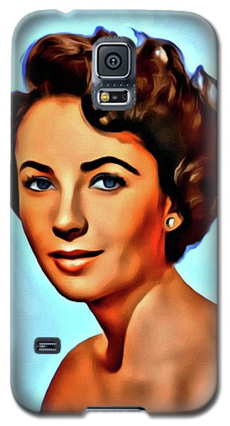 Elizabeth Taylor, Vintage Hollywood Legend Galaxy S5 Case
