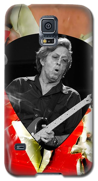 Eric Clapton Art Galaxy S5 Case by Marvin Blaine