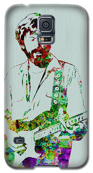 Musicians Galaxy S5 Case - Eric Clapton by Naxart Studio