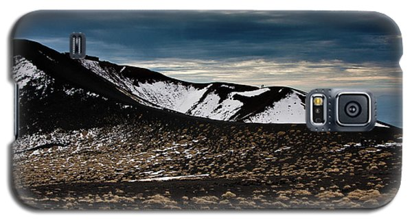 Etna, Red Mount Crater Galaxy S5 Case by Bruno Spagnolo