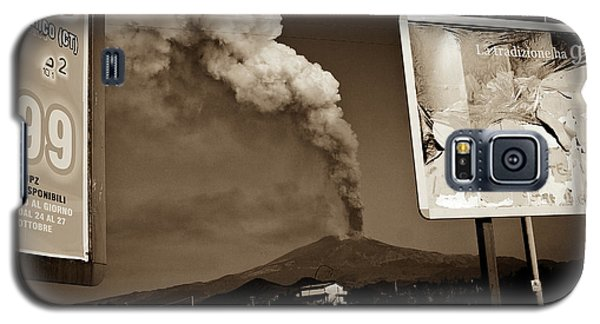 Galaxy S5 Case featuring the photograph Etna, The Volcano by Bruno Spagnolo
