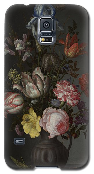 Flowers In A Vase With Shells And Insects Galaxy S5 Case