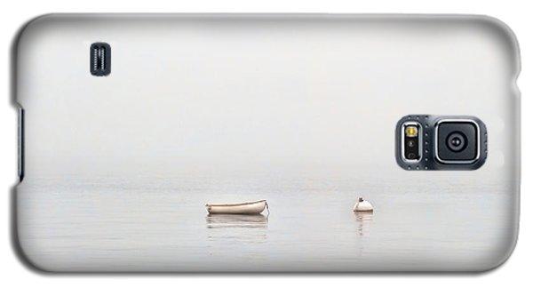 Foggy Mooring Galaxy S5 Case by Richard Bean