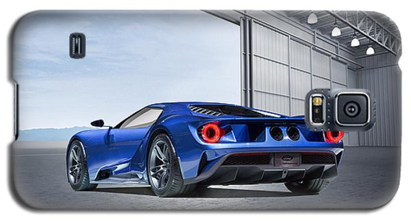 Galaxy S5 Case featuring the digital art Ford Gt by Peter Chilelli