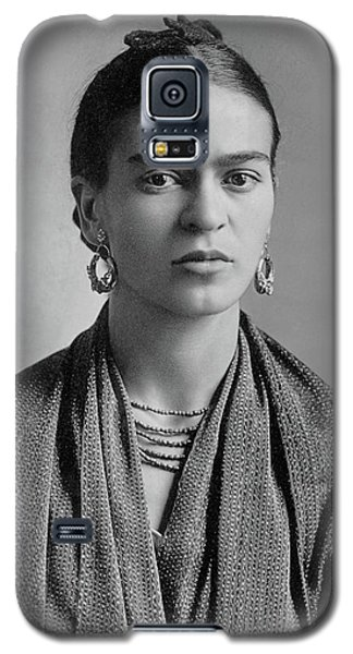 Galaxy S5 Case featuring the painting Frida Kahlo by Pg Reproductions