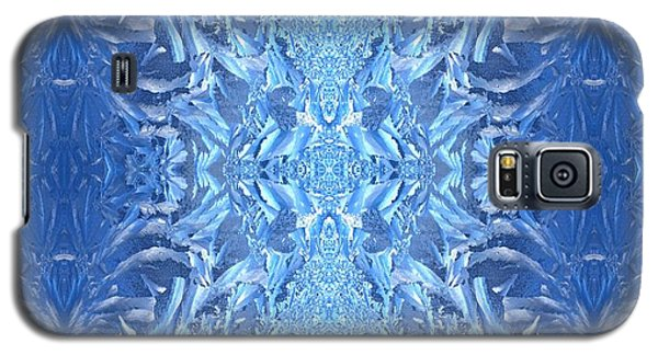 Frost Feathers Galaxy S5 Case by Marianne Dow