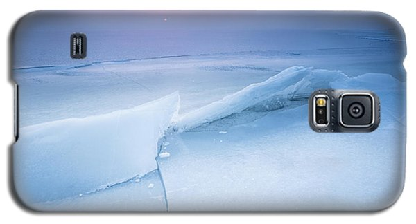 Galaxy S5 Case featuring the photograph Frozen by Davorin Mance