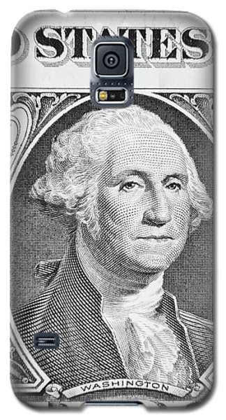 Galaxy S5 Case featuring the photograph George Washington by Les Cunliffe