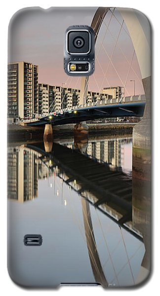 Glasgow Clyde Arc Bridge At Sunset Galaxy S5 Case