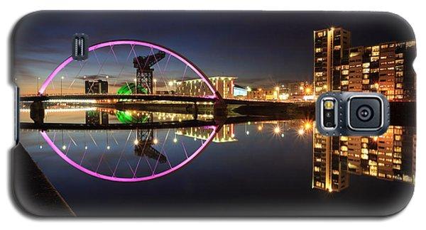 Glasgow Clyde Arc Bridge At Twilight Galaxy S5 Case