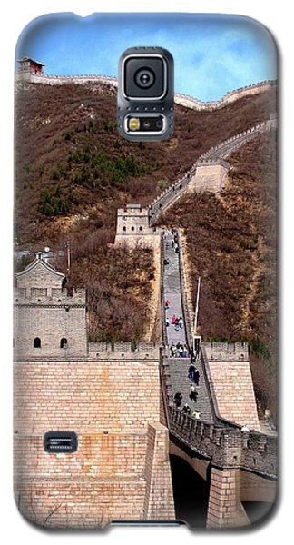 Galaxy S5 Case featuring the photograph Great Wall  by Marti Green