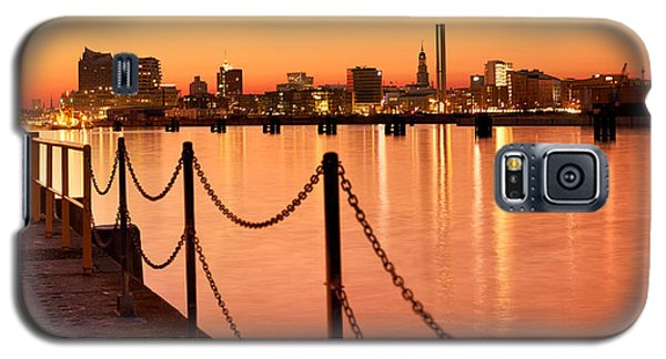 Hamburg Skyline Galaxy S5 Case