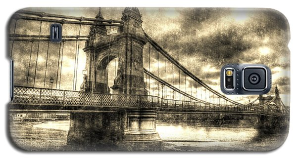 Hammersmith Bridge London Vintage Galaxy S5 Case