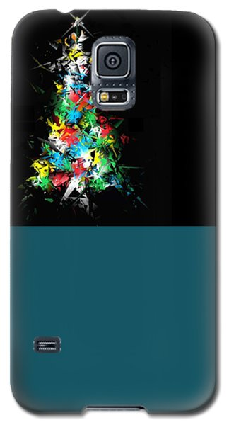 Happy Holidays Galaxy S5 Case by Ludwig Keck