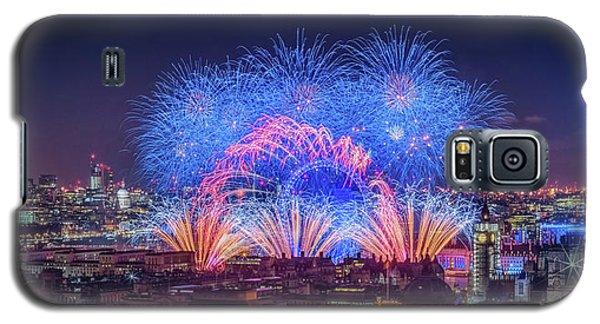 Happy New Year London Galaxy S5 Case