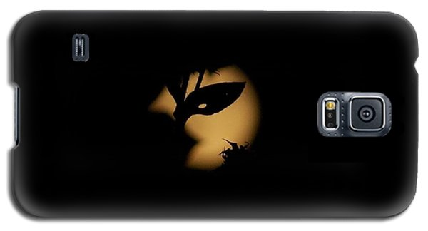 Galaxy S5 Case featuring the photograph Harvest Moon Masquerade by Deborah Moen