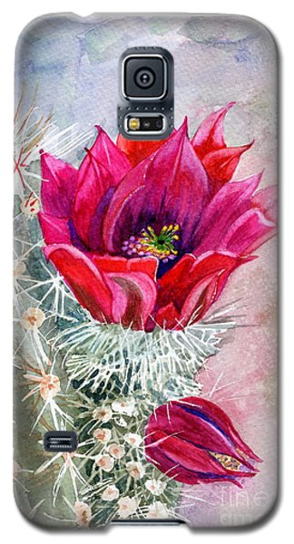 Hedgehog Cactus Galaxy S5 Case