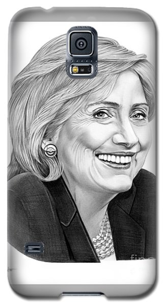 Hillary Clinton Galaxy S5 Case by Murphy Elliott