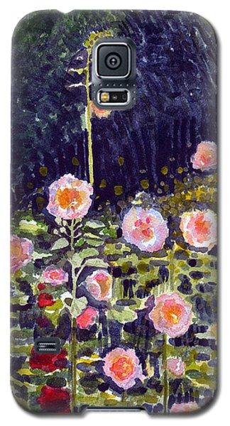 Hollyhocks Galaxy S5 Case