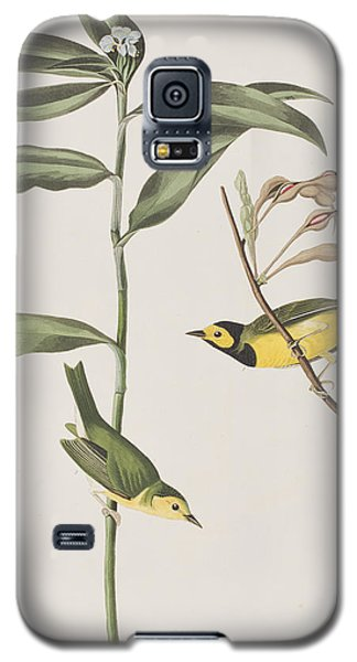 Hooded Warbler  Galaxy S5 Case by John James Audubon