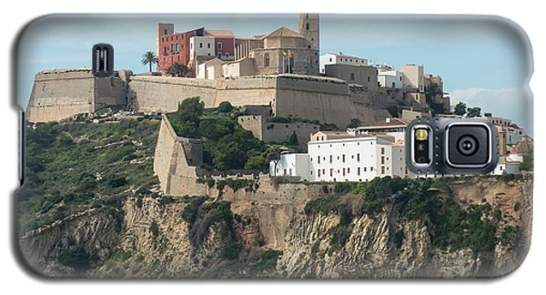 Ibiza Town And Castle Galaxy S5 Case