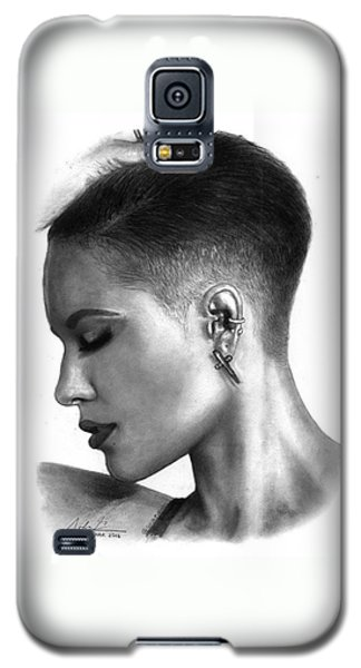 Halsey Drawing By Sofia Furniel Galaxy S5 Case